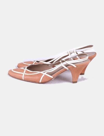Zapato destalonado marrón Farrutx