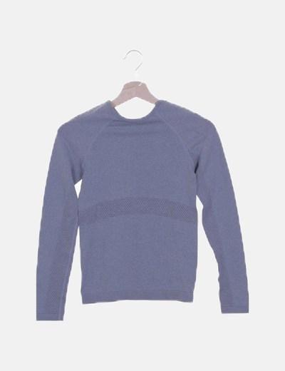 Camiseta deportiva gris