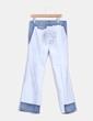 Pantalón wide leg combinado Miss Sixty