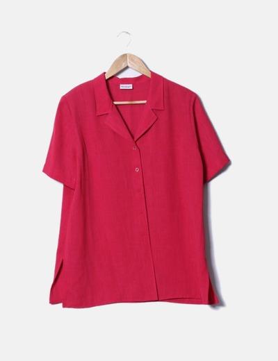 Conjunto de blusa y falda roja El Corte Inglés
