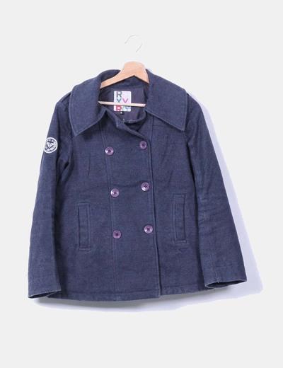 Abrigo gris  Roxy