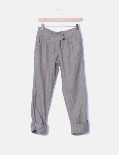 Pantalón chino de paño