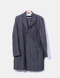 Abrigo negro jaspeado Benetton