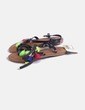 Flat sandals with tassels and beads Nicoboco