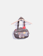 Bolso shoulder estampado multicolor Tous