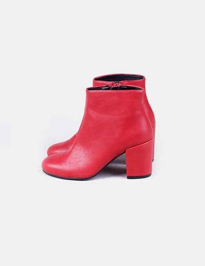 Boutique en ligne f484e e899c Botín rojo