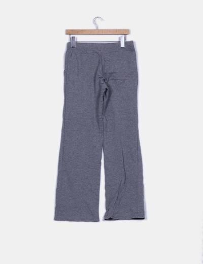 Pantalon deportivo gris