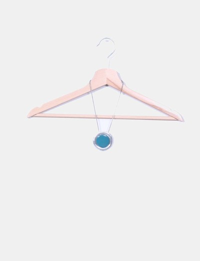 Collar de esfera redonda azul NoName