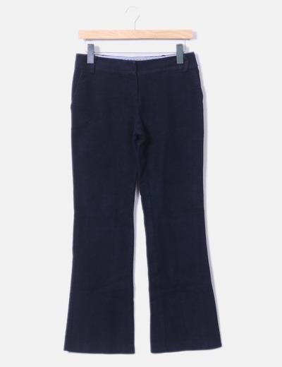 Pantalón recto azul marino Sinéquanone