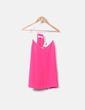 Blusa fluida de tirantes rosa Promod
