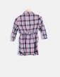 Camisa de cuadros multicolor Zara