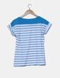 Camiseta a rayas detalle bolsillo  Pull & Bear