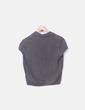 Chaqueta tricot gris Massimo Dutti