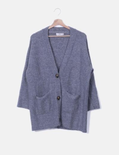 Cardigan tricot con botones