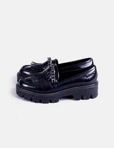 D.a.t.e. - Zapatillas de Piel para mujer, color Negro, talla 38