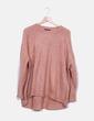 Jersey punto rosa Zara