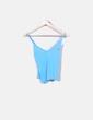 Camiseta azul de tirantes Lacoste