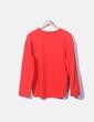 Sudadera polar roja Zara