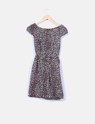 Vestido globo animal print Suiteblanco