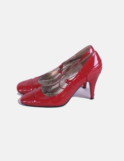 Zapatos charol rojo