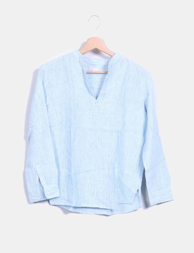 a24b7be6a Gocco Blusa de rayas manga larga (descuento 94%) - Micolet