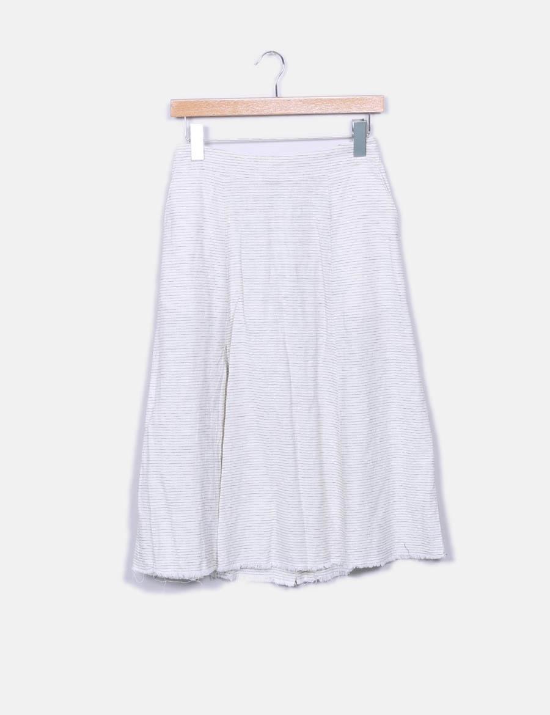 7aa9157f23 baratas Faldas Zara rayas midi Falda de online qABZH1wx ...