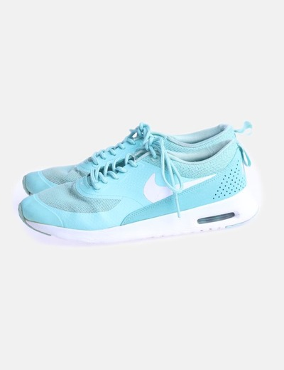 Sneaker turquesa