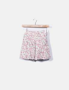 Minifalda floral con cinturón Pepe Jeans 57d4d76efdc9