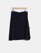 Falda midi negra print  Desigual