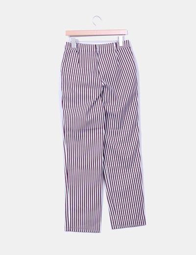 Pantalon tricolor de rayas
