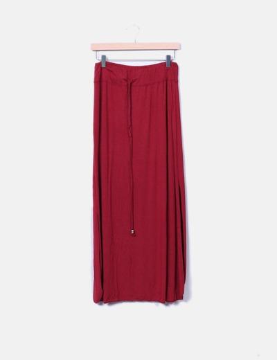 Falda maxi con aberturas en los laterales NoName