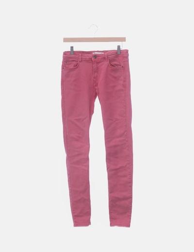 Jeans denim rosa