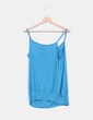 Top abullonado azul de tirantes H&M