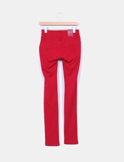 Leggings rojo