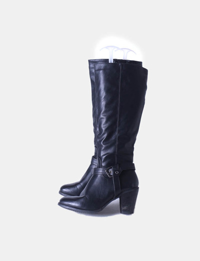 Boot avec boucle noir Carolina Boix
