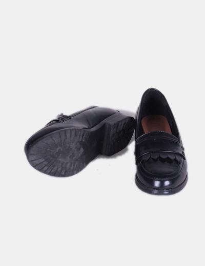 Zapato mocasin negro