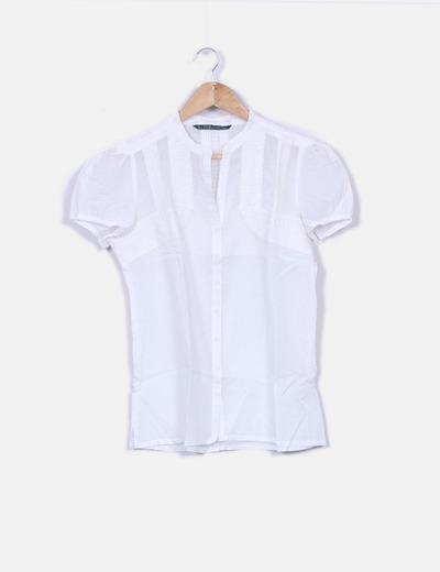 170cda838 Camisa blanca bordada