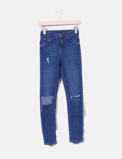 Jeans denim déchirés Topshop