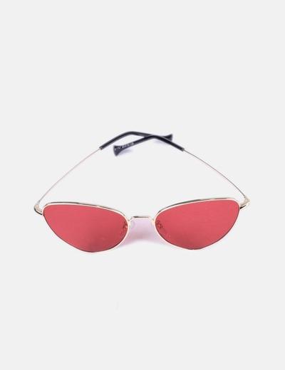 Asos Lentes modernas do vermelho dos óculos de sol do gato (desconto ... 0e88558b43