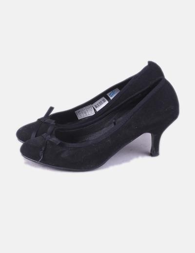 Chaussure noire avec le ruban Tex Woman