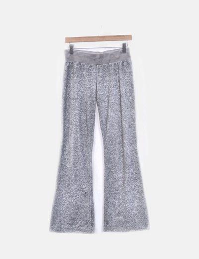 Pantalón babby terciopelo gris