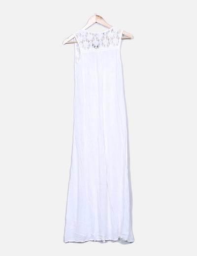 Chaleco blanco combinado