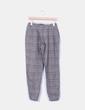 Pantalón de cuadros de lana Zara