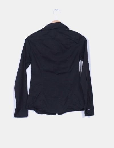 Camisa basica negra