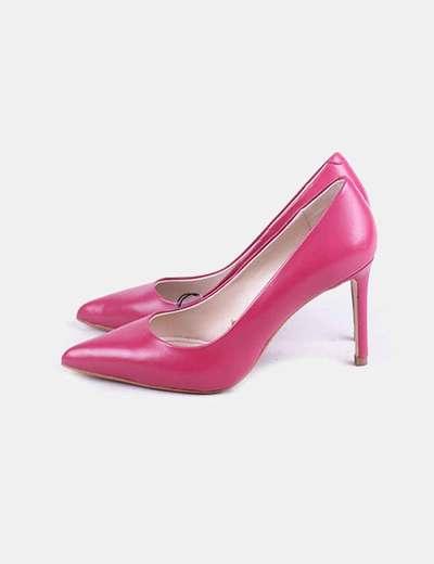 Zapatos salones rosas