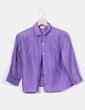 Chemise violette courte Tintoretto