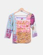 Camiseta estampado multicolor Save the Queen