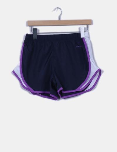 Pantalón corto de deporte tricolor El Corte Inglés