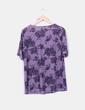 Blusa morada print floral NoName