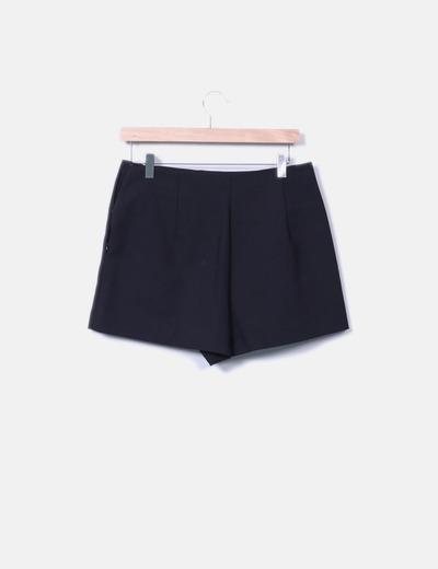 83c51d74cfae Short negro de vestir
